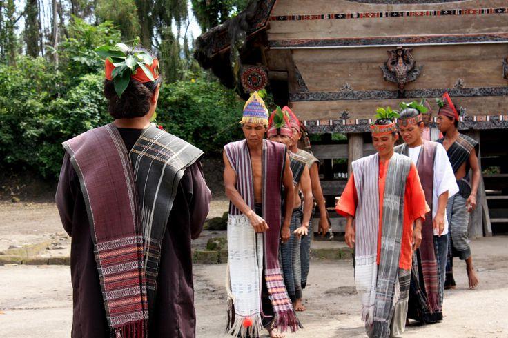 Orang Batak, Medan, Indonesia.