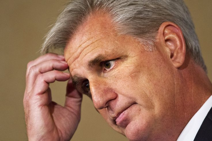For Rep. McCarthy, the likely new House speaker, words still fail him