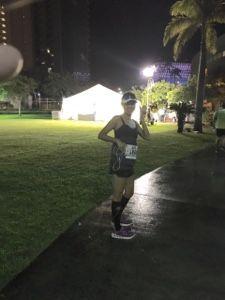 さとうあつこのハワイ不動産: ホノルルマラソンいざ出陣!の模様
