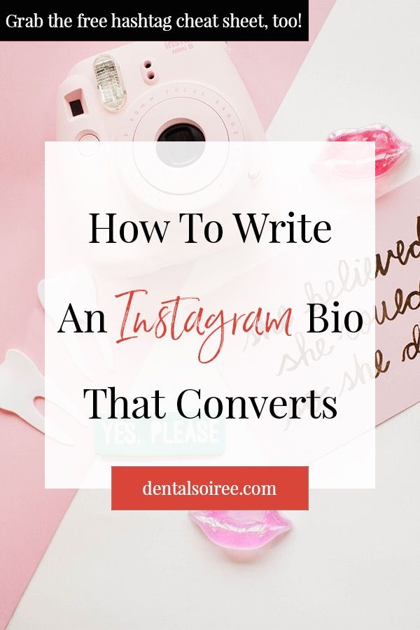 How to write an Instagram bio that engages your audience to take action.