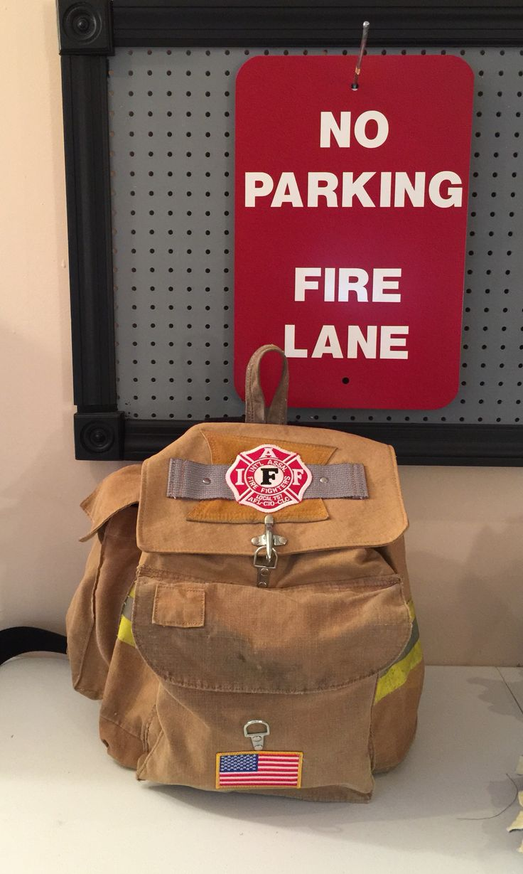 Recycled bunker gear bags - Backpacks Made From Recycled Turnout Gear Recover Gear Bags Llc On Facebook Or Email