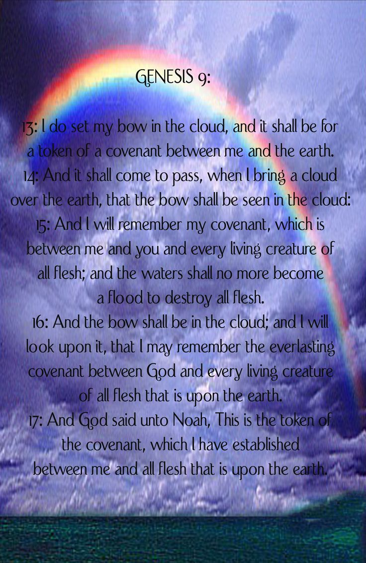 """Amen, God did place in the sky a """"Rainbow Covenant"""" between God and Man. That He would never again destroy man with Water or let it Cover His Earth.  But under the """"New Covenant"""" instituted by King Jesus and the blood that he shed to save all sinners who exercise Faith in him. Those who are under the """"Blood Covenant""""( Luke 22:15-20, Hebrews 12;24-29, Hebrews 13:20-31), will not be Destroyed by the """"Fire"""" that God will bring upon the wicked on Judgment Day( 2 Peter 3:1-18). Fire is Coming !"""