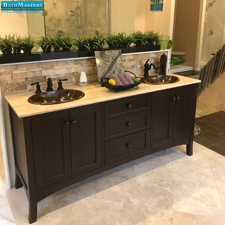 Want to see some of the latest bathroom design and material options? Give us a call to set up a time to come by the showroom! BathMastersVirginia.com