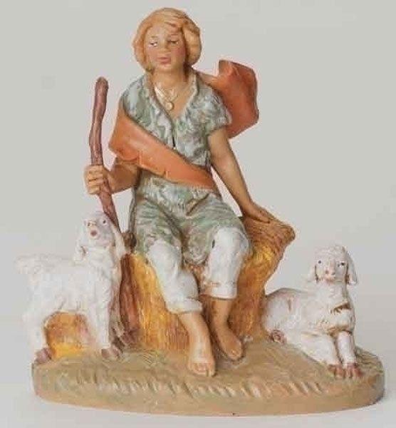 Fontanini Nativity PETER Shepherd (54049) #FontaninibyRoman