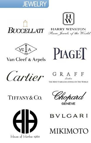 List of high end luxury jewelry designer brands autos post for High couture brands