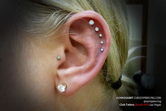 5 Ear Piercings by Chris Saint | Flickr - Photo Sharing!