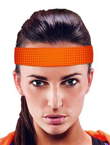 Wantalis Cool Run Bandeau rafraîchissant Orange: Technologie innovante Cold Gel System, aide à garder la tête, cou ou poignets bien au…