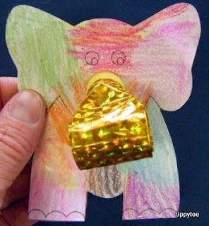 Tippytoe Crafts: ElephantsSafari Parties, Elephant Crafts, Kids Crafts, Elephant Parties, Tippyto Crafts, Preschool Crafts, Animal Crafts, Crafts Parties, Parties Blower