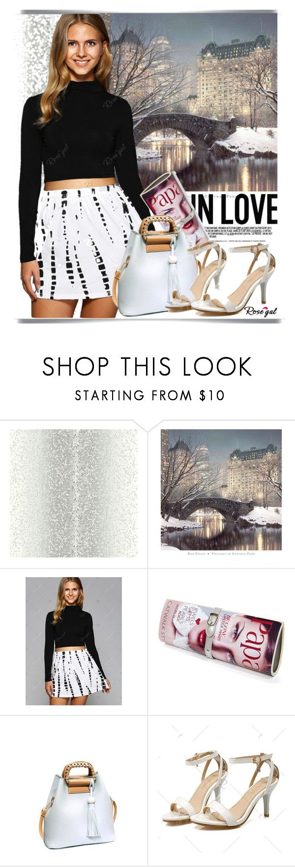 """""""rosegal.com -41"""" by k-lole ❤ liked on Polyvore featuring Papà Razzi, print, trend and rosegal"""