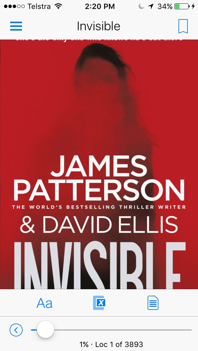 #jamespatterson #invisible Standalone thrill from James Patterson, a great read!