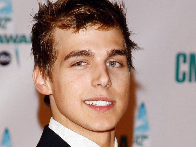 American actor and singer Cody Linley...