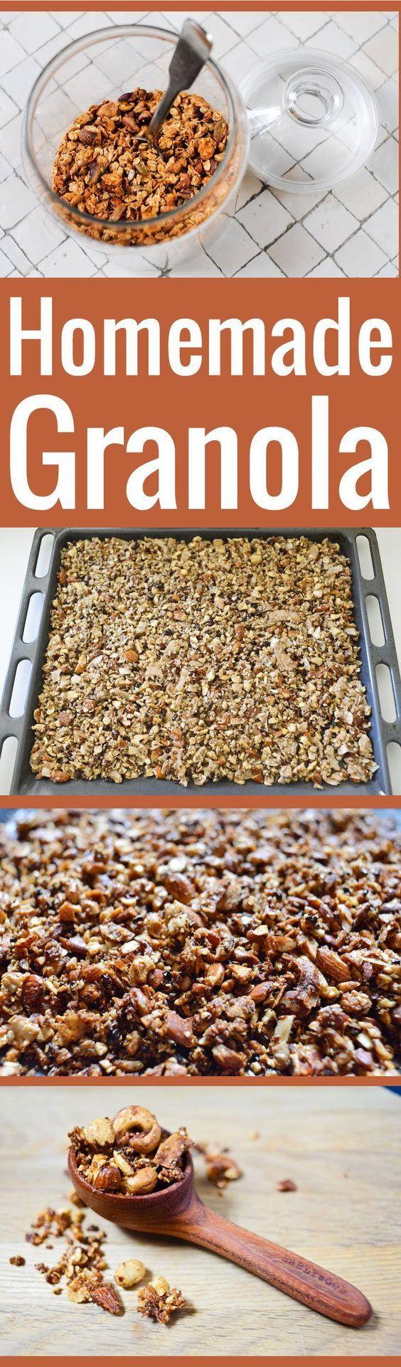 Réalisez votre propre granola maison grâce à cette formule de base facile et flexible, à adapter selon vos goûts et les ingrédients dont vous disposez.