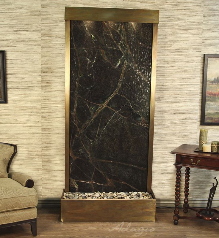 Large Selection Of Water Fountains Including The Tranquil River Floor  Fountain Flush Mount By Adagio.
