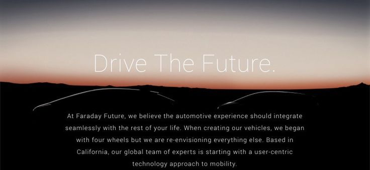 Faraday Future's New VP of Government Relations & General Counsel Comes From Tesla