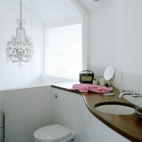 Marvelous Glamour ses Wei Bad Wohnideen Badezimmer Living Ideas Bathroom