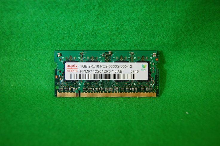 1GB Notebook RAM Hynix 200p PC2-5300 CL5 HYMP112S64CP6-Y5 DDR2 667MHz SODIMM