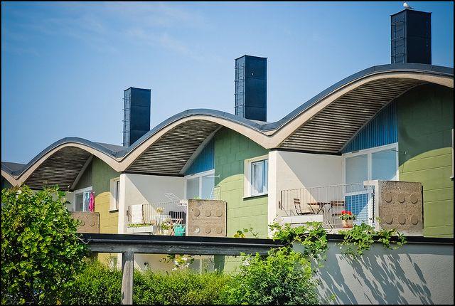 Housing in Gyttorp, Sweden (Ralph Erskine)