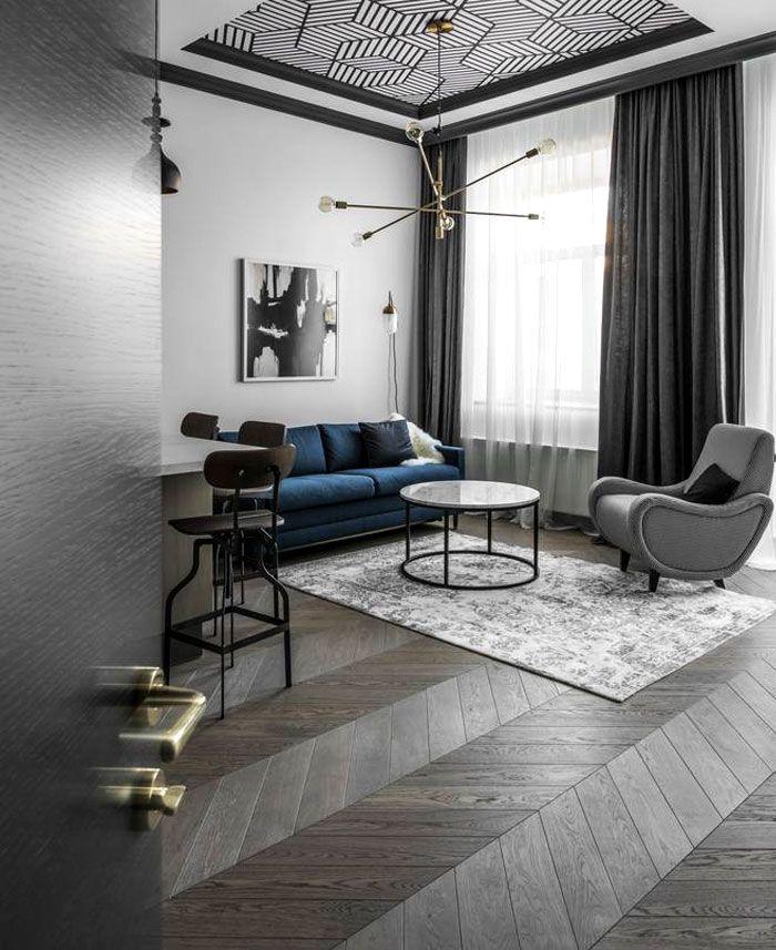 Interjero Architektura Apartment Renovation in Vilnius Old Town - InteriorZine
