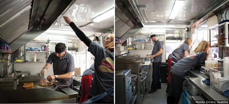 Versatility and exceptional interior design for food for Food truck interior design