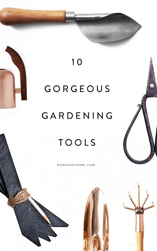 The most gorgeous gardening tools for green thumbs for Gardening tools 7 letters