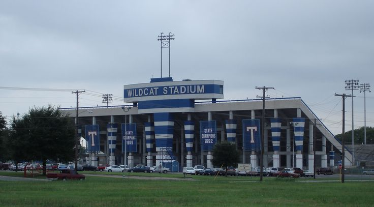 Wildcat Stadium Temple Texas This Is Where I Went To High
