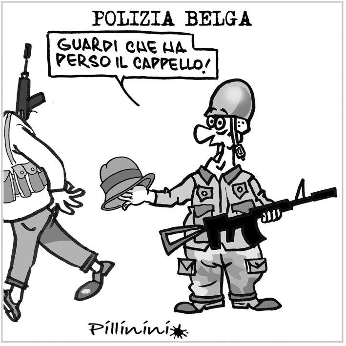 Defaillances della polizia belga contro i terroristi.