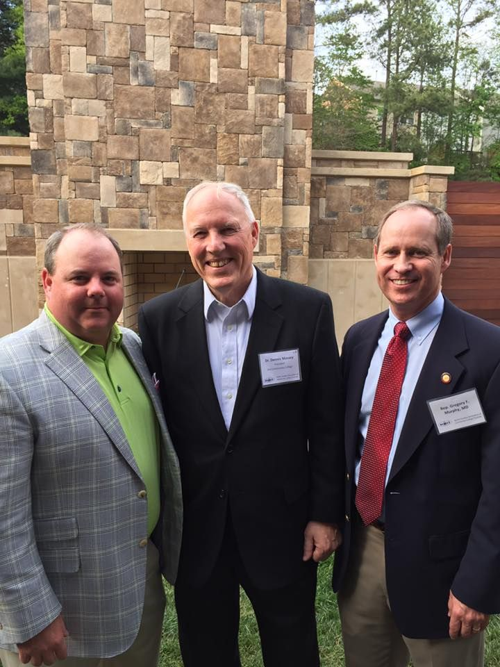 Had a great time meeting w Mr Scott Shook, Chair State Board of Community Colleges, and Pitt Community College President, Dr Dennis Massey in Raleigh.