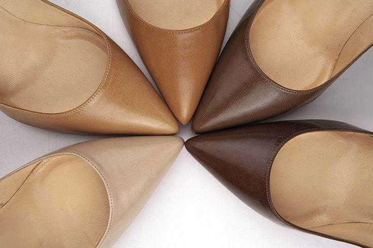 The high-end shoe designer shows