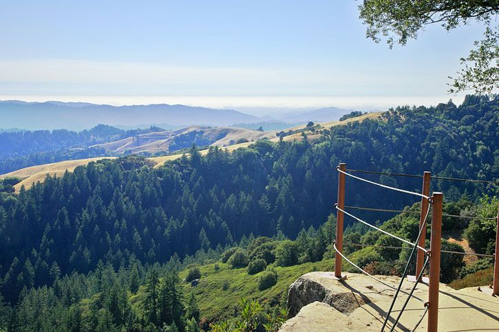 Next time you're in Palo Alto make sure to check out Skyline Ridge, palo alto
