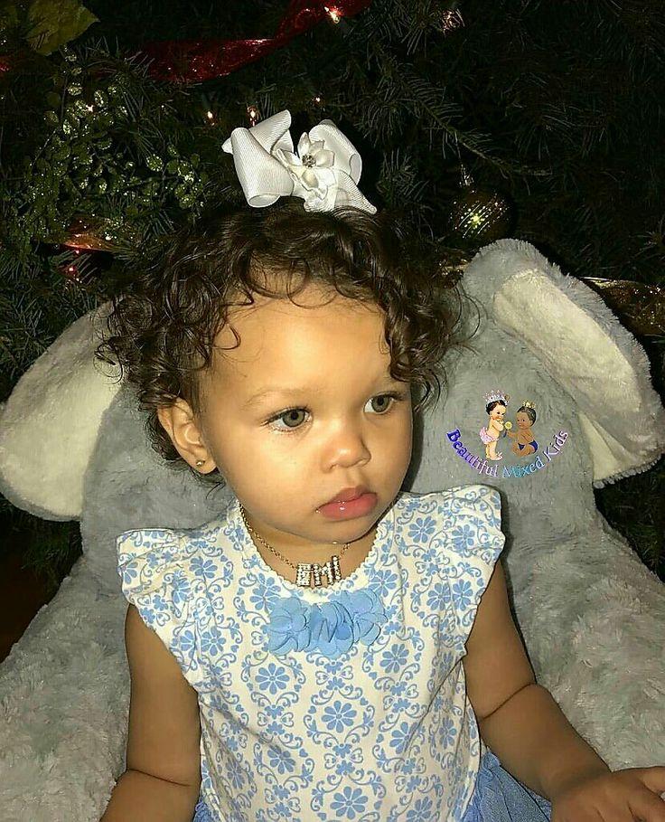 Noemi Alexandra - 1 Year • Dad: Native American & African American • Mom: Filipino, Jamaican, Spainard, German & Dutch ❤