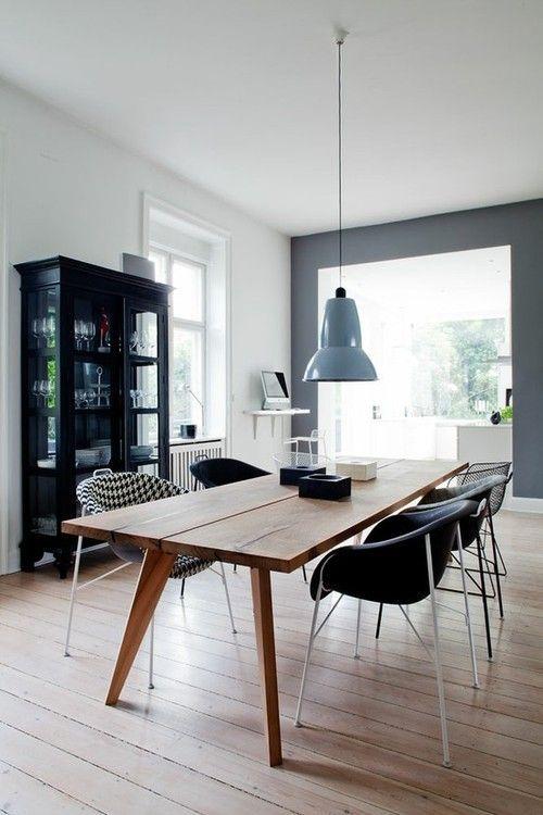 A chic and stylish Scandinavian interior. #home #decor