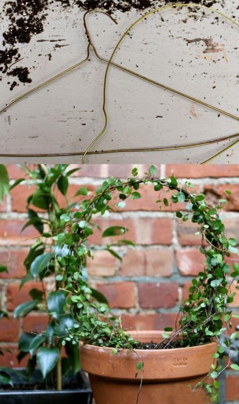 alambre metálico decoraciones de jardín, mano bricolaje
