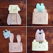 And, of course, turn every present into an animal face. | 13 Beautifully Easy Gift Wrapping Ideas