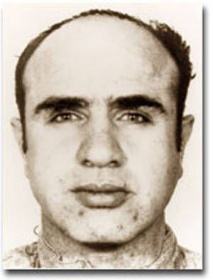 Al Capone Arrested: Capone's rule over Chicago was stopped in 1931 when he was sent to prison for tax evasion.