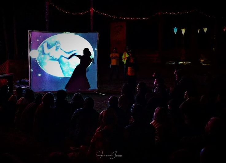 MWS performing The Selkie Bride shadow show. 2017
