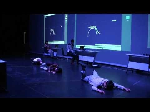 YCAMオリジナルワークショップ「コトバ身体」 - YouTube