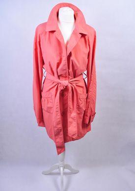 Vintage płaszcz brzoskwiniowy