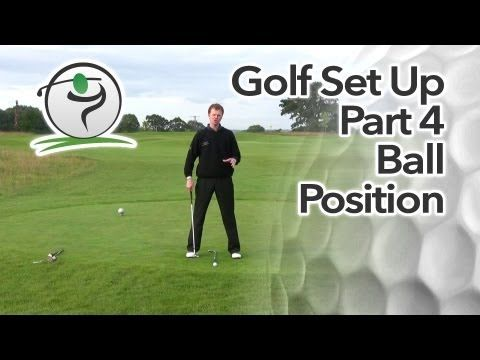 Correct Golf Ball Position | Free Online Golf Tips