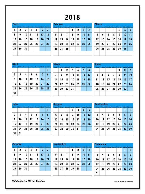 """Calendario 2018 """"Elegius"""" de Michel Zbinden (México)"""