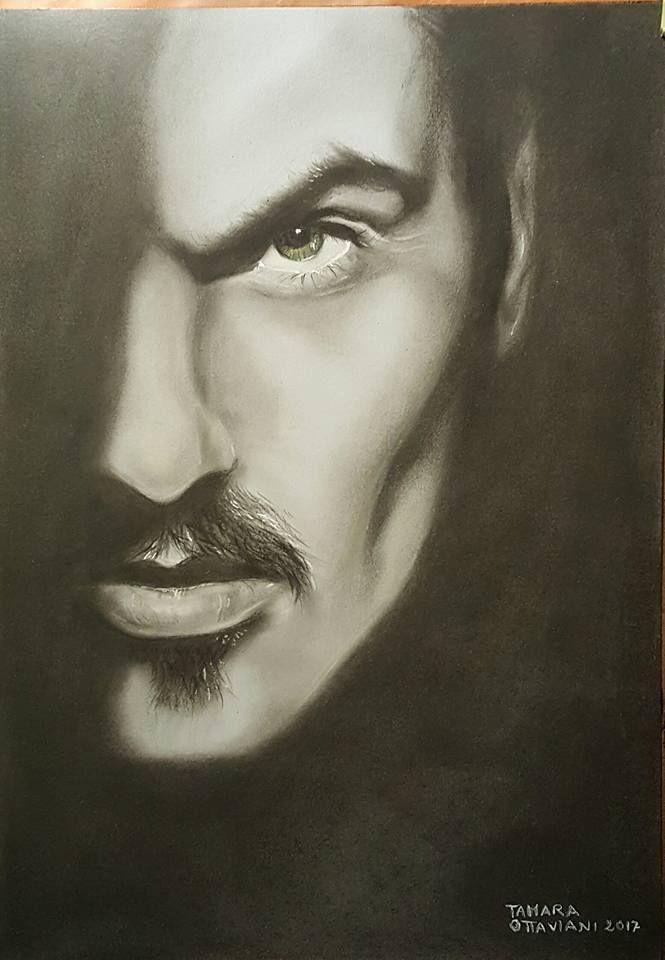 #georgemichael #portrait #picture #drawing #draw #music #arte #art #artbytamara #carelesswhispers