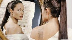Тату Анджелины Джоли — красивые фото | ТриТатушки