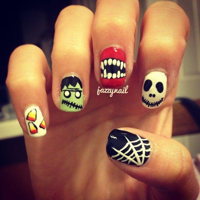 Fun Fall Nail Designs: Best 25+ Candy Corn Nails Ideas On Pinterest
