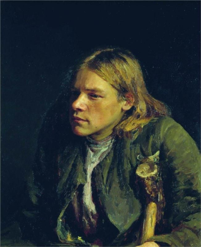 Ilya Repin, Self-Portrait, via WikiPaintings.org