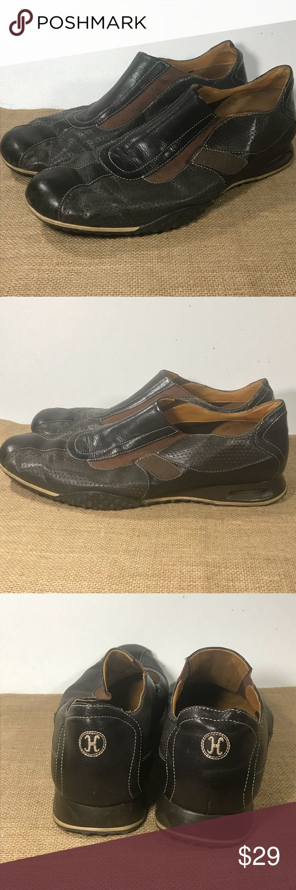 Mens 13 Cole Haan Loafers Slide On Leather These are in good condition, the strap has been removed.  Mens Size 13   Cole Haan Cole Haan Shoes Loafers & Slip-Ons