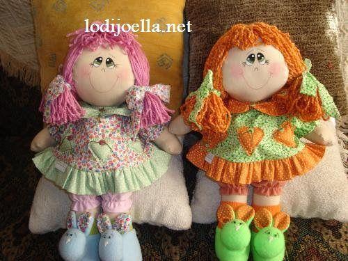 Moldes para hacer una muñeca :lodijoella