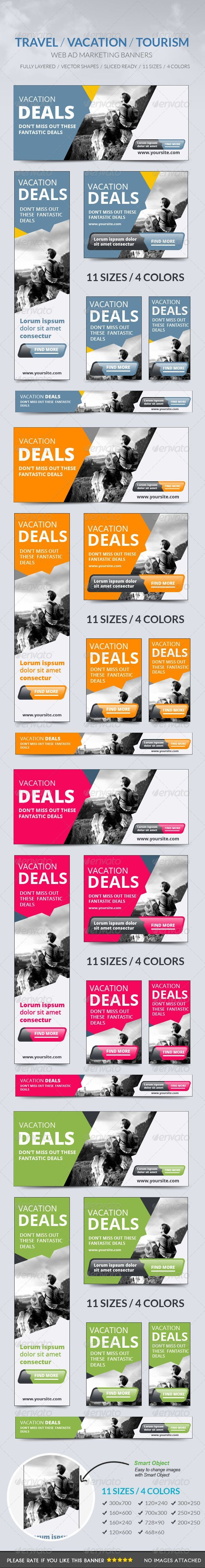 Travel Vacation Tourism Banner Template PSD   Buy and Download: http://graphicriver.net/item/travel-vacation-tourism-banner-/8715190?WT.ac=category_thumb&WT.z_author=msrashdi&ref=ksioks: