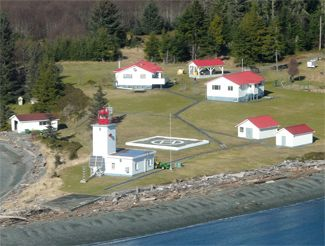 Pulteney Point Lighthouse, British Columbia Canada at Lighthousefriends.com