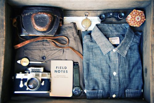 field notes: Fashion, Male Portraits, Travel Kits, Men Style, Cars Girls, Vintage Travel, Houses Projects, Girls Style, Fields
