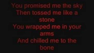 Linkin Park - in pieces lyrics my favorite song by them <3 <3 <3