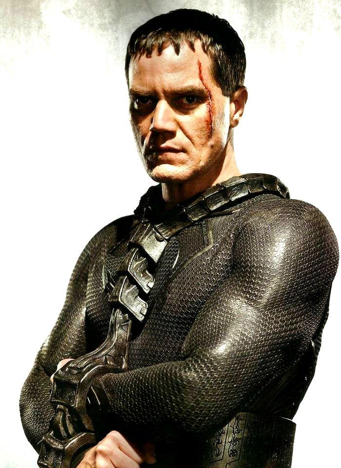 Michael Shannon as General Zod